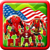American Iron Robot Steel Game