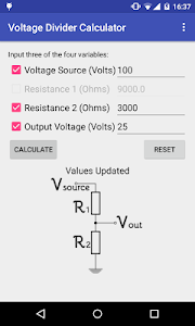 Easy Voltage Divider Calculate screenshot 2