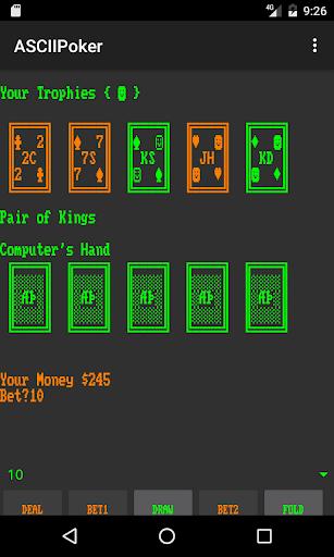 ASCIIPoker  screenshots EasyGameCheats.pro 3