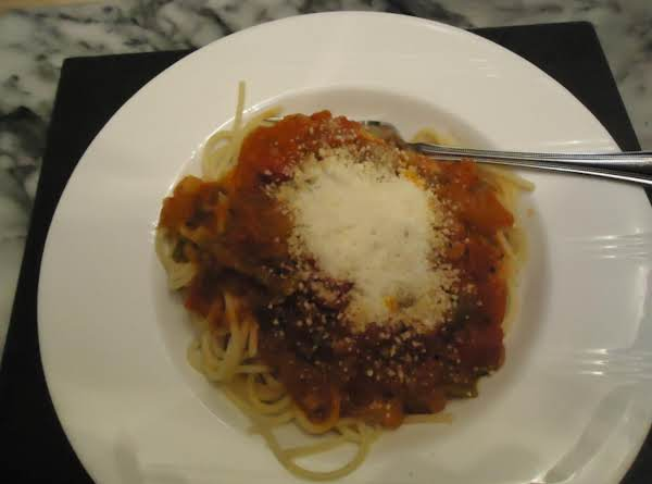 My Homemade  Garden Fresh  Vegetable Spaghetti Sauce Recipe