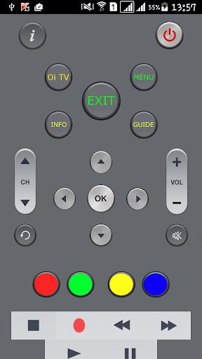Simples Controle Remoto Oi TV