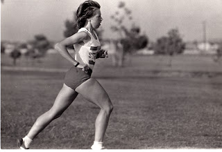 Photo: 1973 Cross country race (Mile Square Park?) Jacqueline Hansen