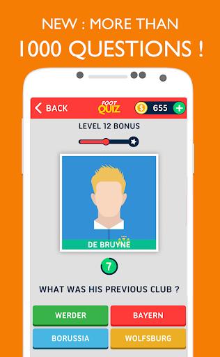 FootQuiz - Football Quiz Game screenshot