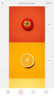 April – Camera360 cute Layout and Template 4