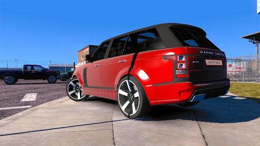 Luxury Prado Jeep Spooky Stunt Parking Range Rover screenshots 4