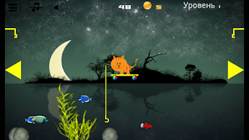 Fishing cat game android app on appbrain for Fish cat game