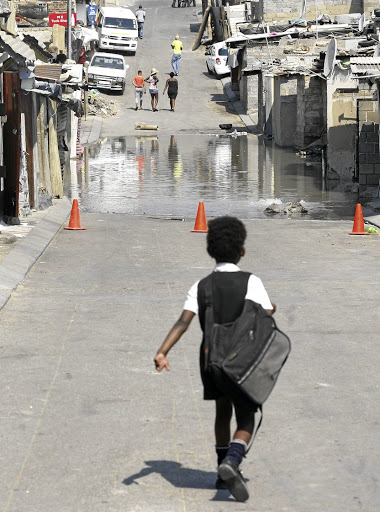 DEAD-END STREET  Catchment areas deny poor children access to top-quality schools Picture: Vathiswa Ruselo