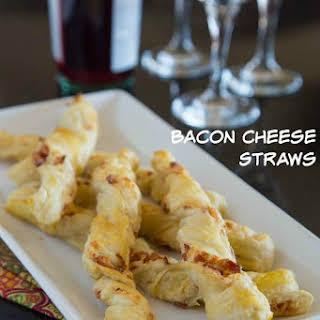 Bacon Cheese Straws.