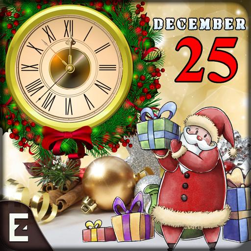 Christmas Live Wallpaper - Xmas Count Down Clock