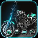 Superbike Motorcycle Theme Geek icon