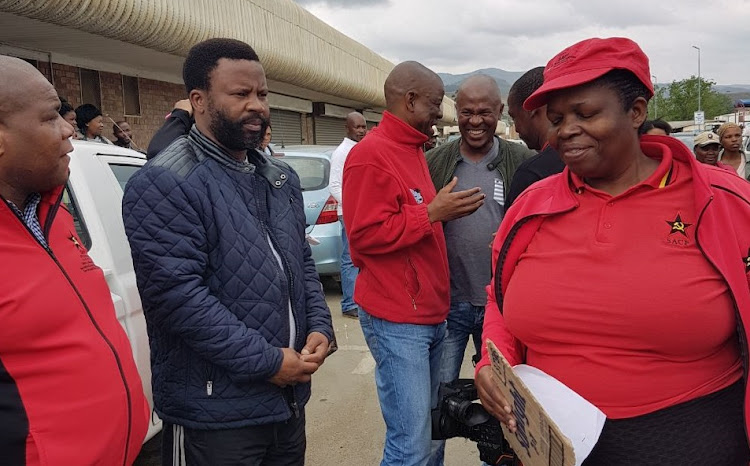 SACP Harry Gwala district secretary and ANC regional executive committee meeting member Nhlanhla Zungu was arrested after failing to produce a licence for his firearm