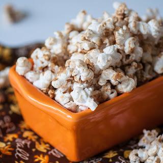 Brown Sugar Pumpkin Spice Popcorn.