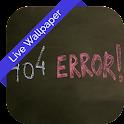 Error 3d Cube Live Wallpaper icon