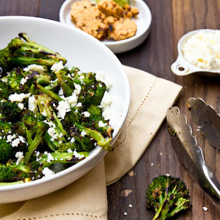 Grilled Broccoli with Chipotle-Lime Butter.