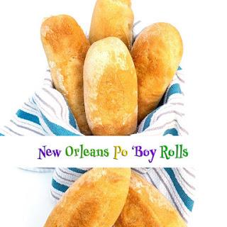 New Orleans Po 'Boy Rolls (Bread Machine) Recipe