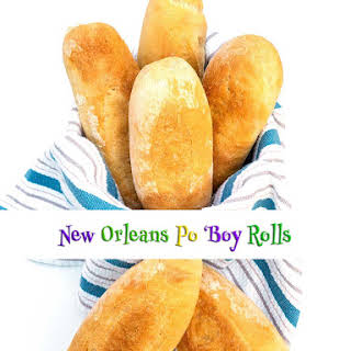 New Orleans Po 'Boy Rolls (Bread Machine).