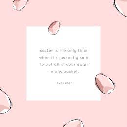 Eggs In One Basket - Easter item