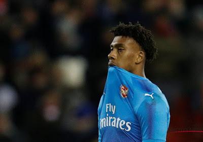 VIDEO: Maitland-Niles speelt bal op training Arsenal met heerlijk trucje door de benen van Alex Iwobi