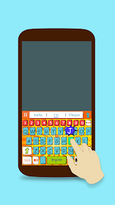 ai.keyboard Comic Book theme screenshot 1