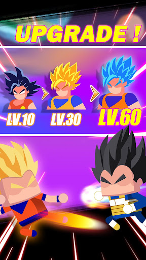 Télécharger Super Z Idle Fighters - Jeu de cartes d'action RPG mod apk screenshots 2