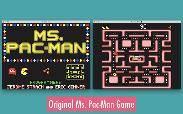 Ms. Pac-Man Classical Game