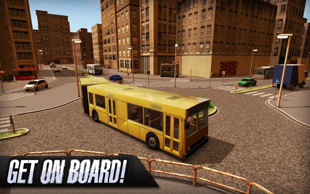 Bus Simulator 2015 Android App Screenshot