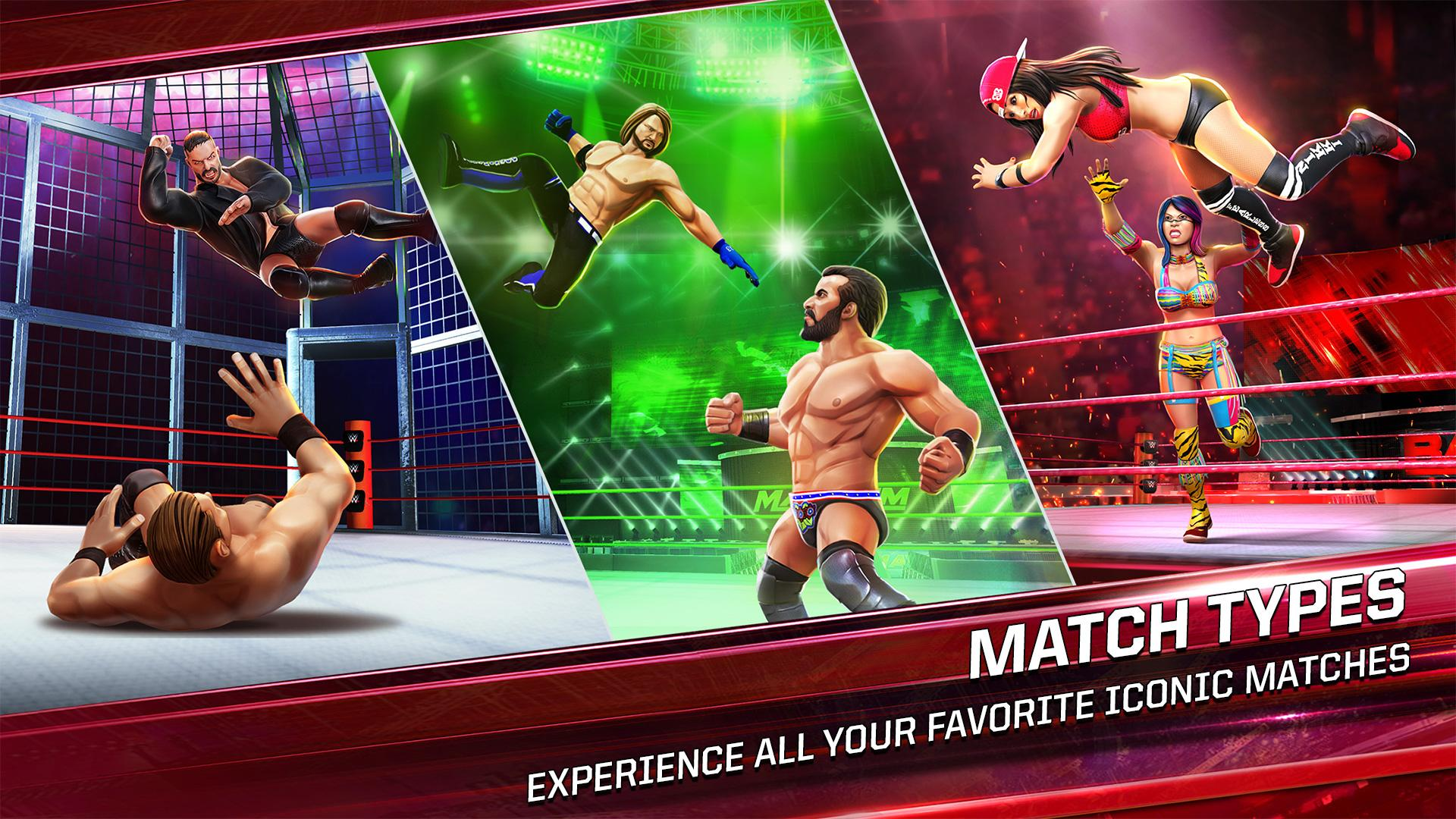 WWE Mayhem (MOD, Unlimited Gold, Cash) 3