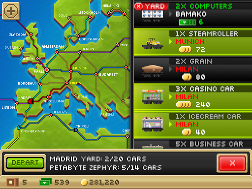 Pocket Trains: Tiny Transport Rail Simulator 1.3.9 screenshots 12