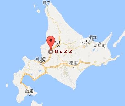 地図:ヘアークリエイト バズ・Hair Create BuZZ