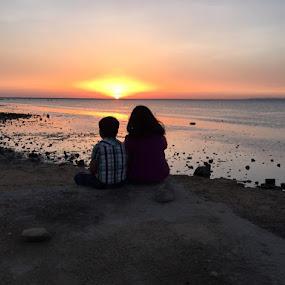 Spirituality of silence by Kaushik Nandy - People Couples