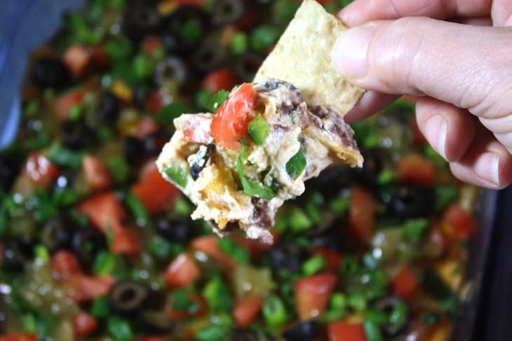 Black Bean Taco Dip Recipe