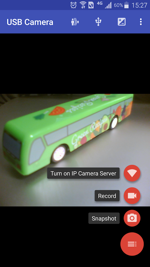 USB Camera - Connect EasyCap or USB WebCam- screenshot