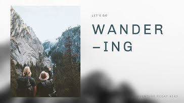 Let's Go Wandering - YouTube Thumbnail Template
