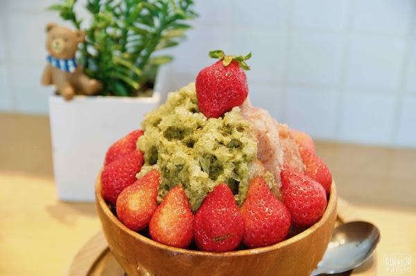冰ㄉ• かき氷|台南超人氣日式冰品小屋|草莓季隱藏冰品大解密