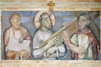 Photo: Kruiswegstaties  Stations of the Cross