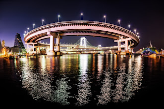 Photo: The Infinite Loop Bridge, Tokyo  Thank you to +Takahiro Yamamoto (Takahiro-san!) for taking us to this amazing part of Tokyo. Right after this, we got up and did a bit of drifting around the bridge and got a video! :) I'll share that soon too.