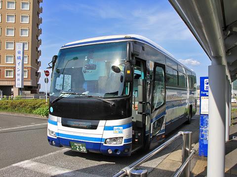 宮崎交通「B&Sみやざき」 ・290 新八代駅にて