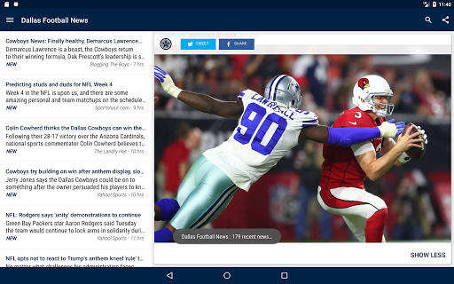 Dallas Football News  screenshots 7