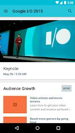 Google I/O 2015 Screenshot 1