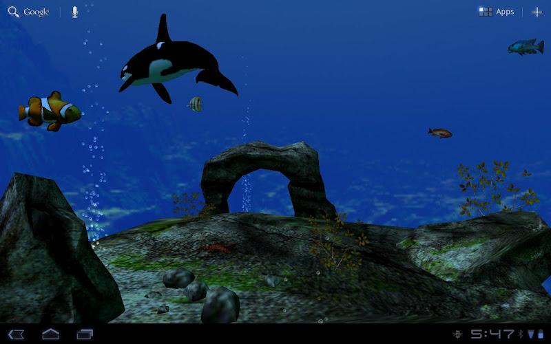 Скриншот Ocean Aquarium 3D бесплатно