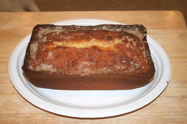 First Premium Golden Vanilla Pound Cake Recipe