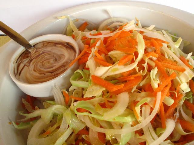 Cabbage Salad with Yogurt Dressing