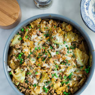 Ground Turkey Cabbage Skillet.