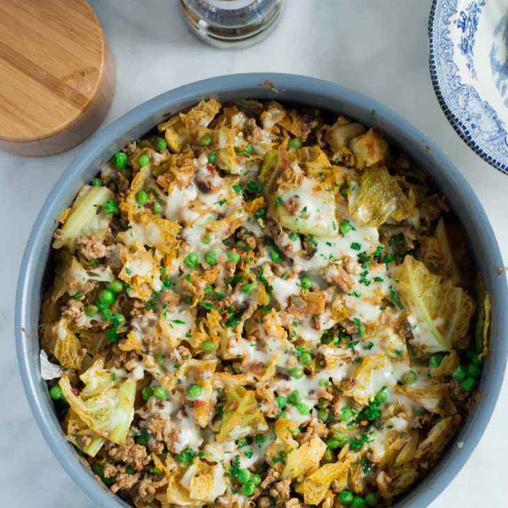 Ground Turkey Cabbage Skillet Recipe