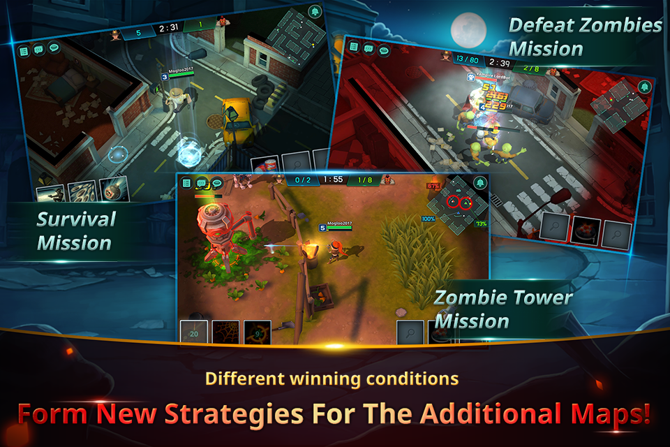 Zombie Busters :  last night in the city- screenshot