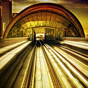 Dubai Metro Station by Jon de Guzman Jr - Buildings & Architecture Other Exteriors