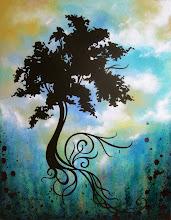 Photo: Vivid Arbor 16x20 Acrylic on Canvas