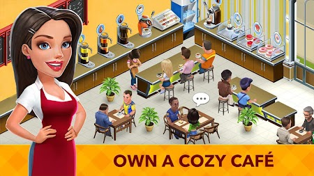 My Cafe: Recipes & Stories - World Cooking Game APK screenshot thumbnail 1
