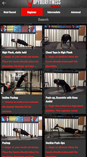 UpYourFitness Mobile- screenshot thumbnail
