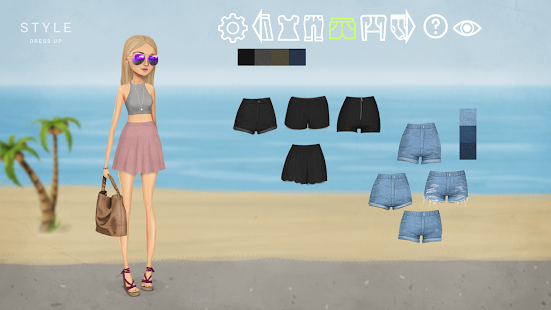 Style Dress Up Game- screenshot thumbnail